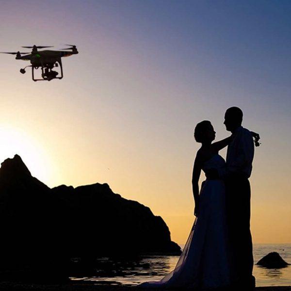 El Papel del dron en las Bodas