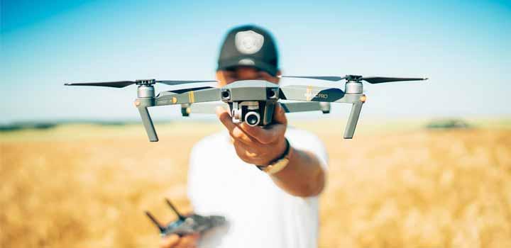 Drones y tiempo libre.