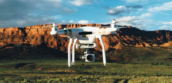 Drones, robos y fronteras
