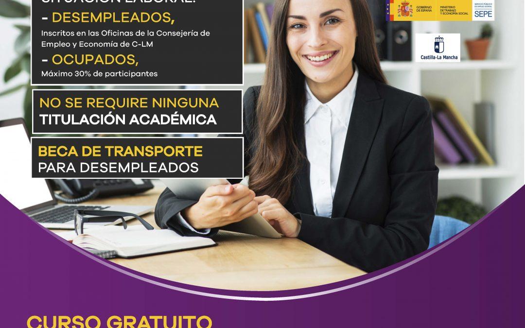 Cuso Gratuito: Operaciones Auxiliares de Servicios Administrativos y Generales